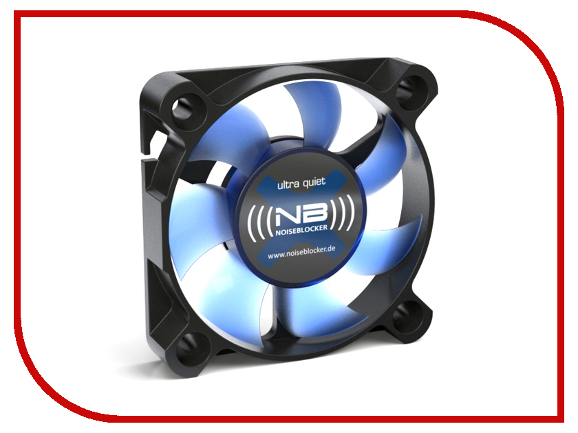 Вентилятор Noiseblocker BlackSilentFan XS2 50mm 4000rpm<br>