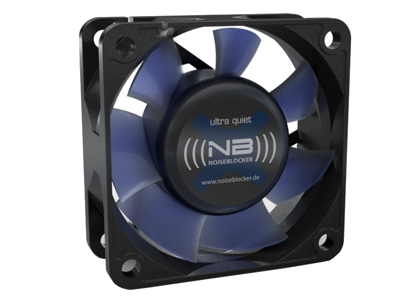 Вентилятор Noiseblocker BlackSilentFan XR1 60mm 1600rpm