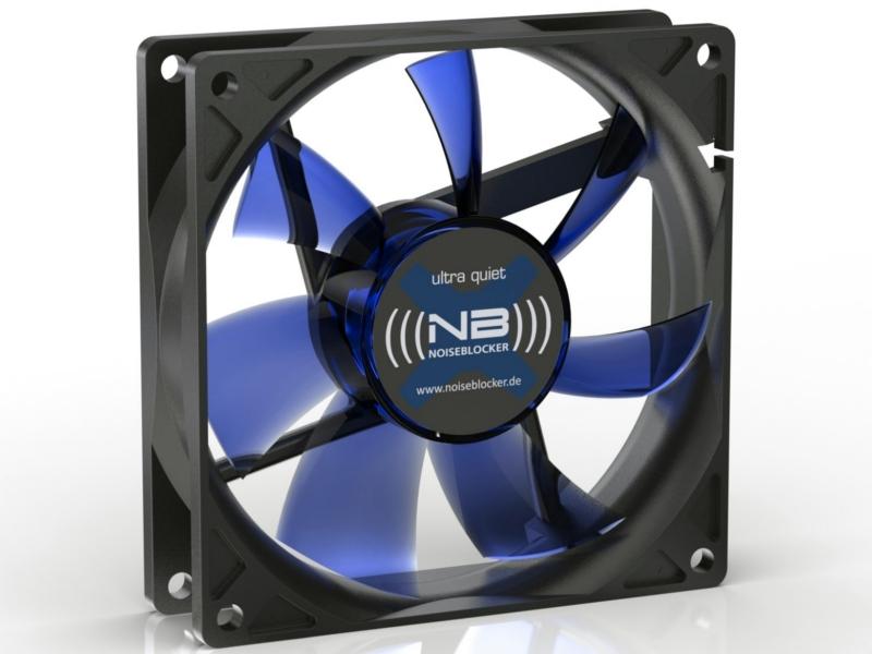 Вентилятор Noiseblocker BlackSilentFan XE2 92mm 1800rpm<br>