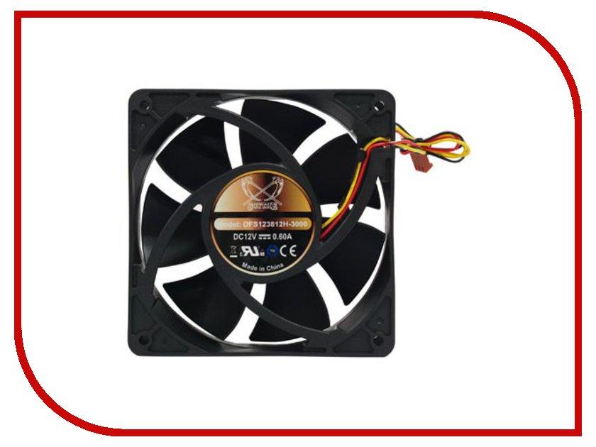 Вентилятор Scythe Ultra Kaze 120mm 3000rpm DFS123812H-3000 серп scythe crowd games