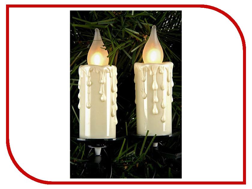 Светильник Kaemingk Оплавленные свечи гигант 490830