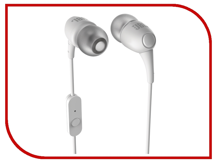Гарнитура JBL T100A White<br>