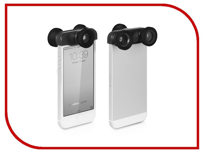 ��������� DF iLens-02 ��� iPhone 5 / 5S ����� ���� 4 � 1