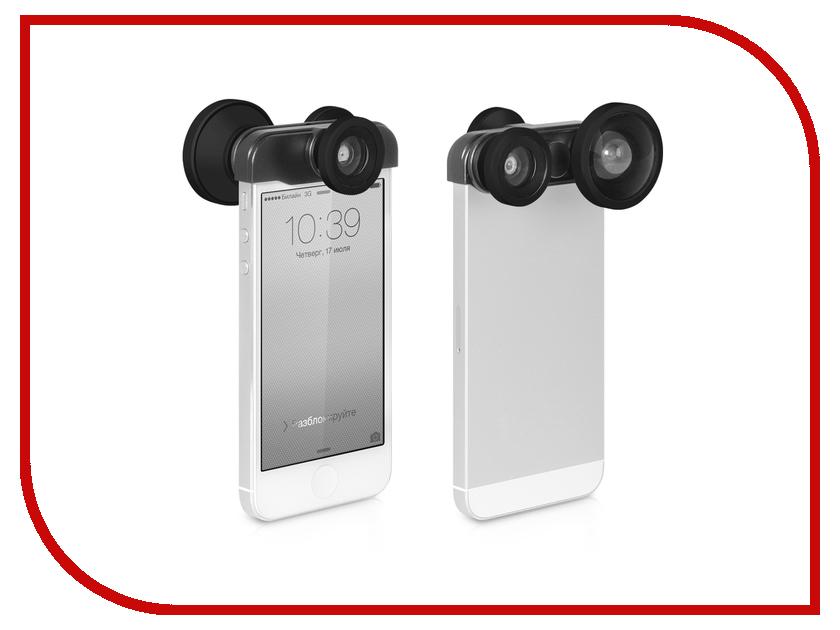 ��������� DF iLens-03 ��� iPhone 5 / 5S ����� ���� 4 � 1