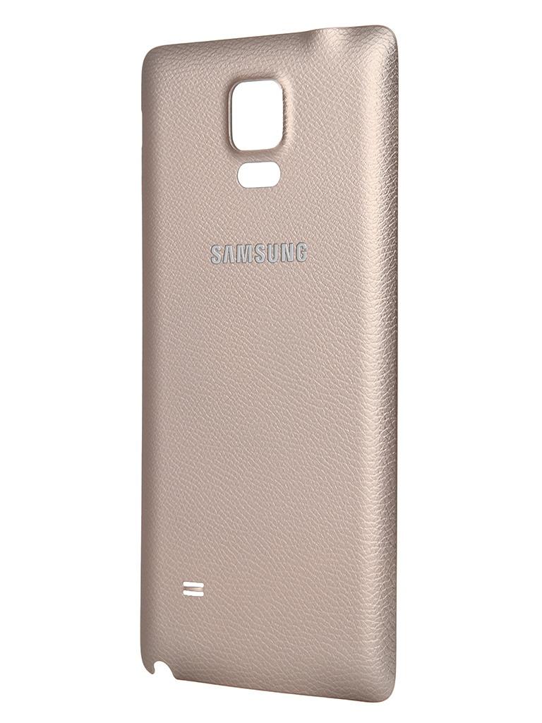 Аксессуар Крышка задняя Samsung SM-N910 Galaxy Note 4 EF-ON910SEEGRU Gold