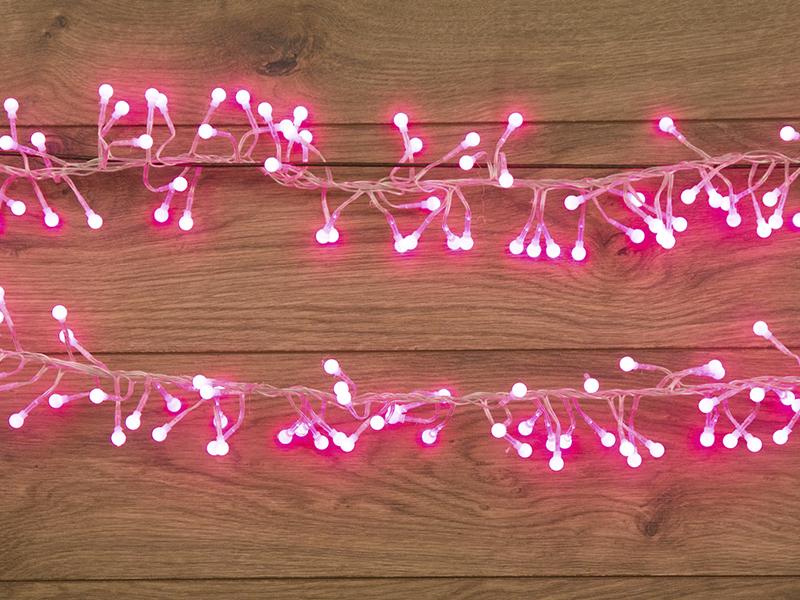 Гирлянда Neon-Night Мишура LED 3m 288 Pink 303-607
