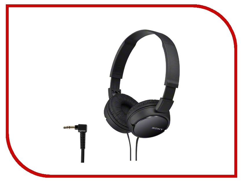 Sony MDR-ZX110AP Black sony mdr zx330bt black