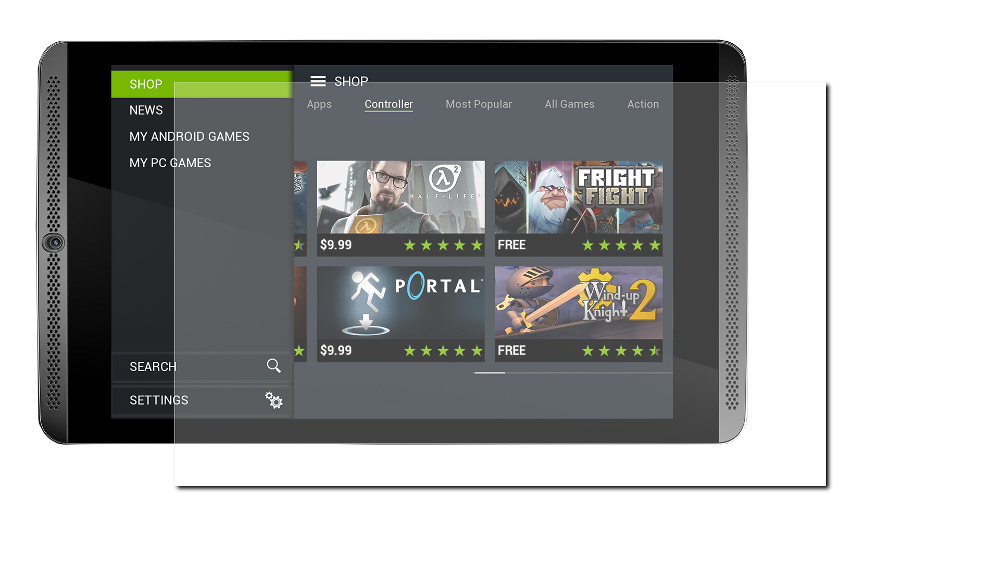 Аксессуар Защитная пленка NVIDIA Shield Tablet LuxCase антибликовая 53801