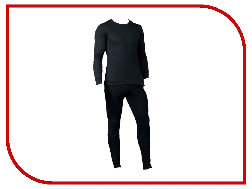 Термобелье CRATEX XXL size Black 361405