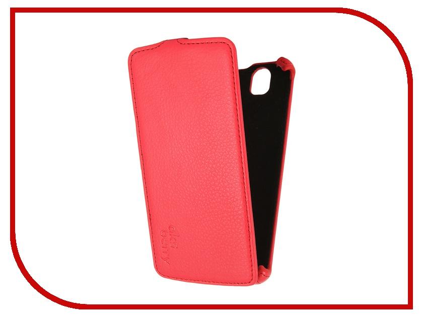 Аксессуар Чехол Fly IQ4503 Aksberry Red аксессуар чехол lg k410 430ds k10 3g lte aksberry black