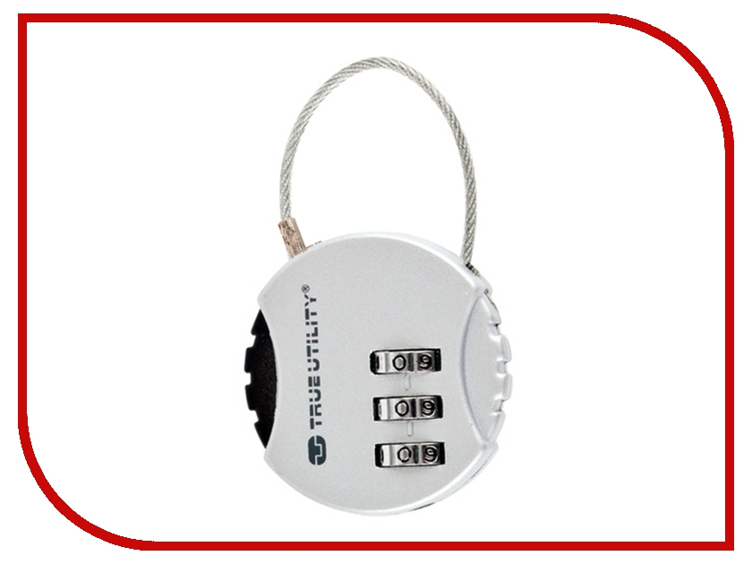 Брелок True Utility Combi Lock TU209