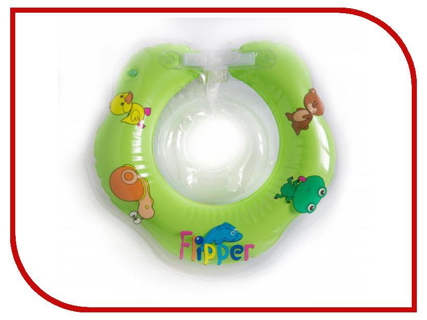 Круг для купания Roxy-Kids Flipper FL001 газоотводная трубочка roxy kids для новорожденных многоразовая