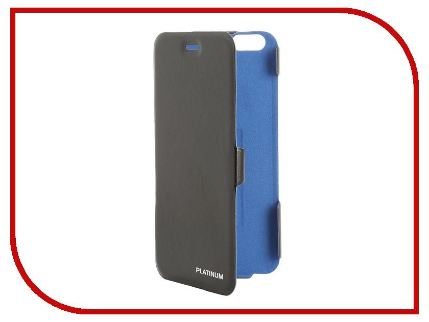 Аксессуар Чехол Prolife Platinum Ultraslim для iPhone 6 Plus кожаный Black 4102886<br>