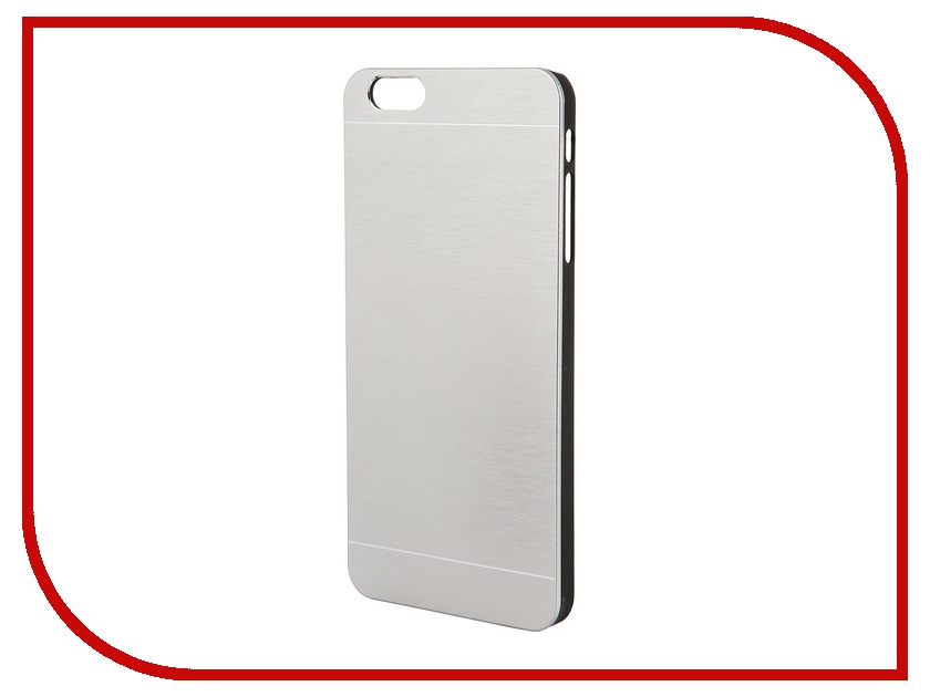 Аксессуар Клип-кейс Prolife Platinum Hi-tech for iPhone 6 Plus пластик, металл Pearl 4103950