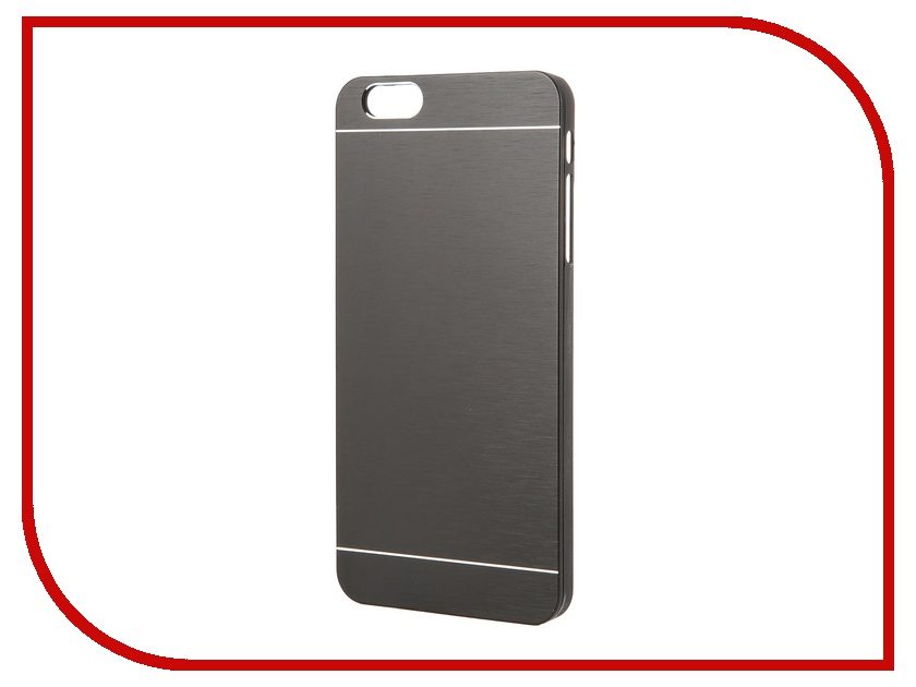 Аксессуар Клип-кейс Prolife Platinum Hi-tech for iPhone 6 Plus пластик, металл Black 4103952<br>