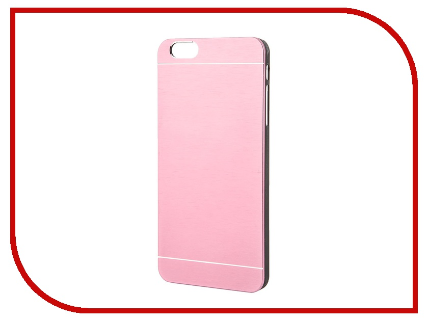 Аксессуар Клип-кейс Prolife Platinum Hi-tech for iPhone 6 Plus пластик, металл Bright-Pink 4103938<br>