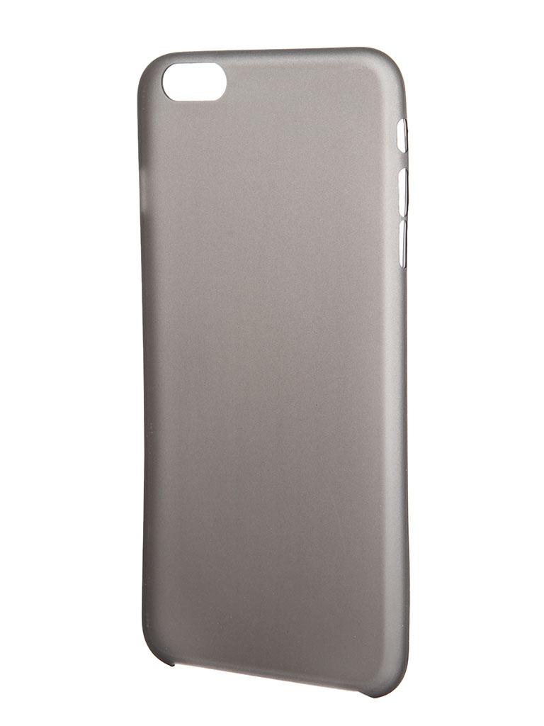Аксессуар Клип-кейс Prolife Platinum for iPhone 6 5.5-inch ультратонкий 0.3mm Graphite Matted 4102870