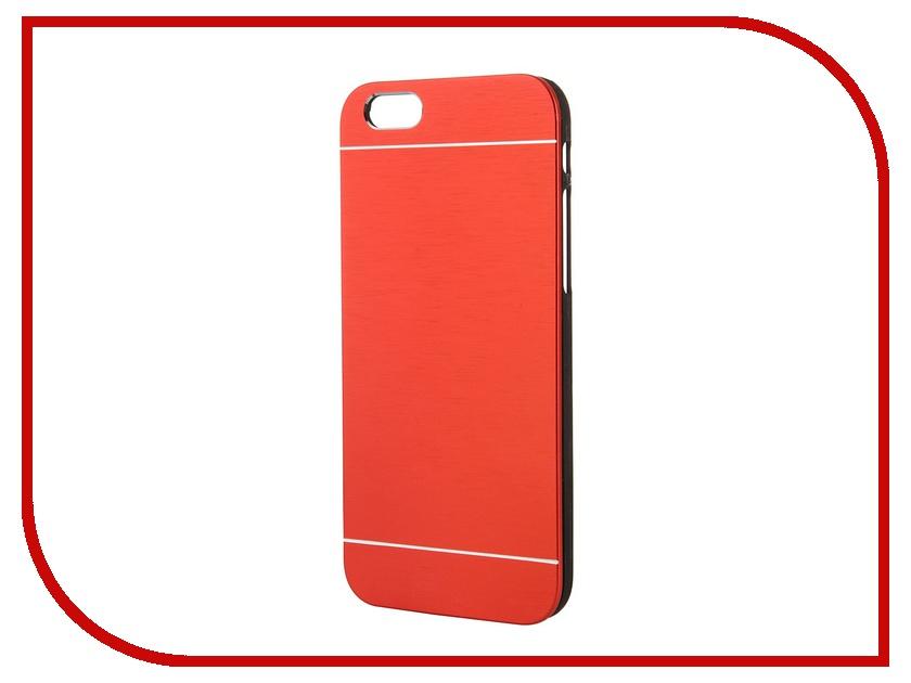 Аксессуар Клип-кейс Prolife Platinum Hi-tech for iPhone 6 пластик, металл Red 4103937<br>