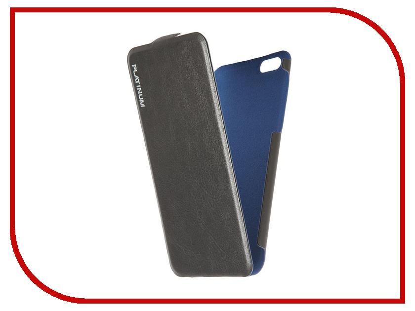 Аксессуар Чехол Prolife Platinum Hi-tech Ultraslim для APPLE iPhone 6 кожаный Black 4102887<br>