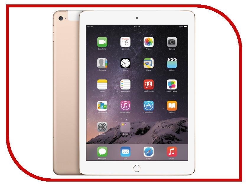 Планшет APPLE iPad Air 2 16Gb Wi-Fi + Cellular Gold MH1C2RU/A