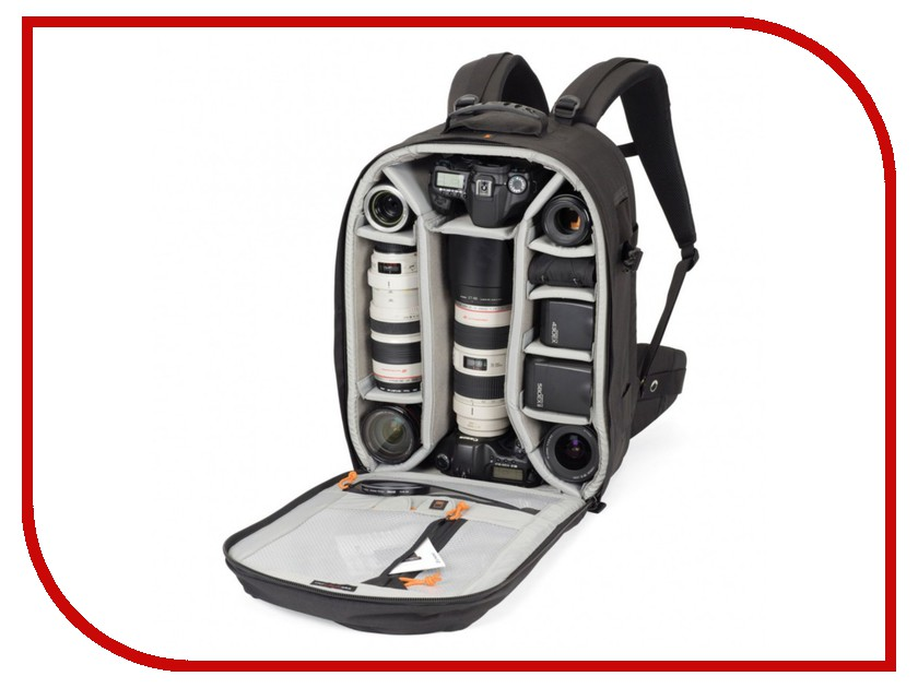 LowePro Pro Trekker 450 AW Black lowepro outback 300 aw black