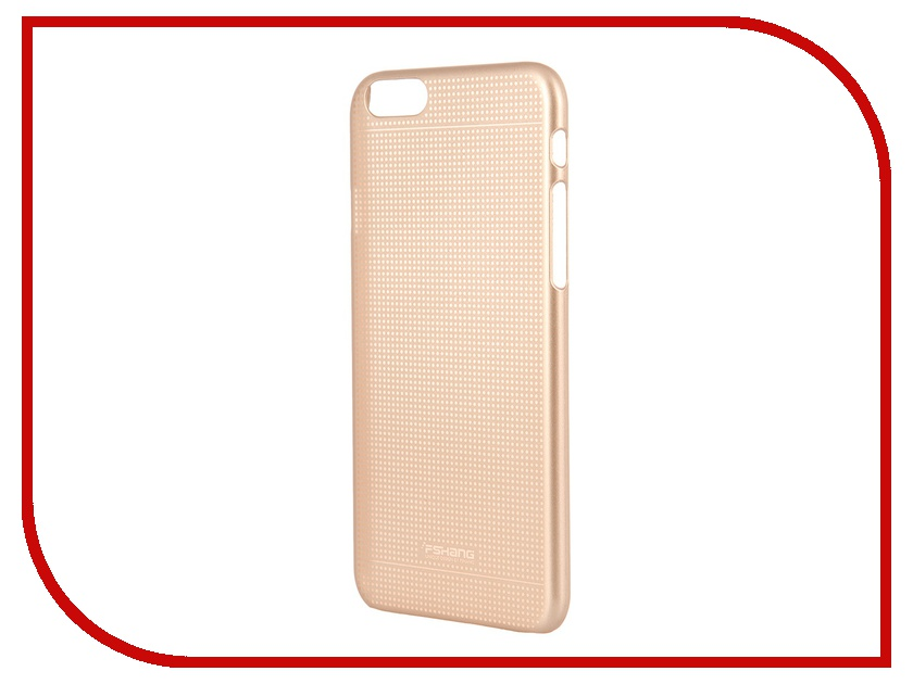 Аксессуар Чехол-накладка FSHANG for iPhone 6 4.7-inch Gold<br>