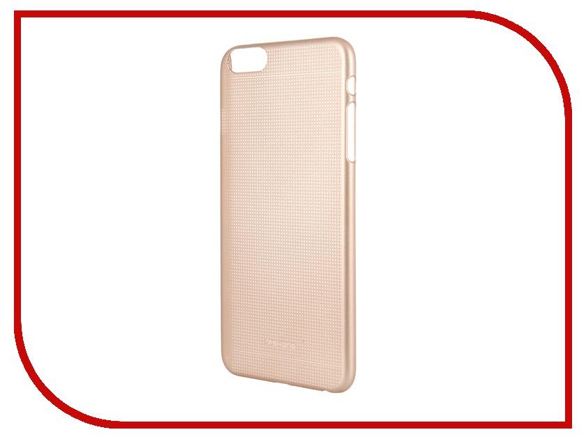 Аксессуар Чехол-накладка FSHANG for iPhone 6 Plus 5.5-inch Gold аксессуар чехол elari для elari cardphone и iphone 6 plus blue