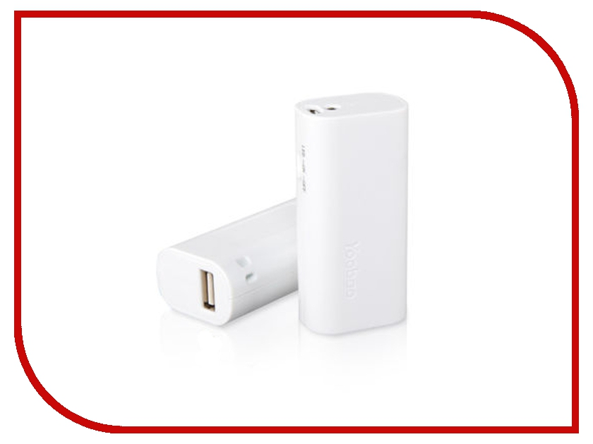 Аккумулятор Yoobao Elfin Power Bank 2200 mAh YB-6101 White