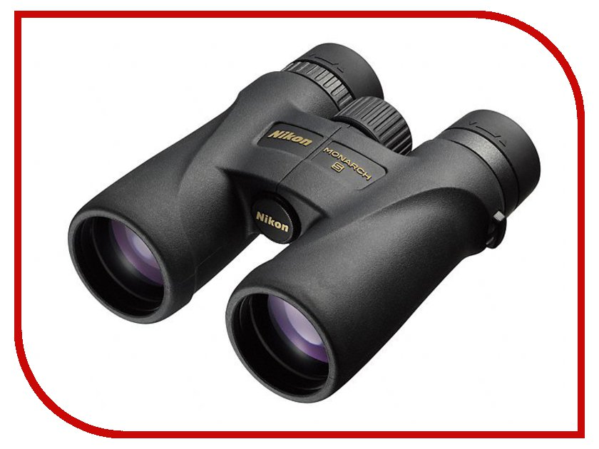 Бинокль Nikon 10x42 Monarch 5 Black бинокль meade wilderness 10x42