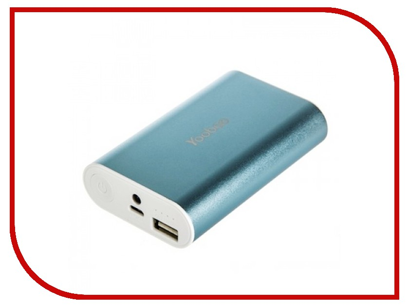 Аккумулятор Yoobao Power Bank Master M3 YB-6013 7800mAh Blue