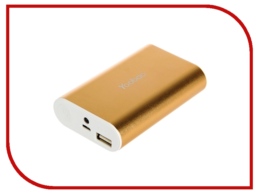 Аккумулятор Yoobao Power Bank Master M3 YB-6013 7800mAh Gold