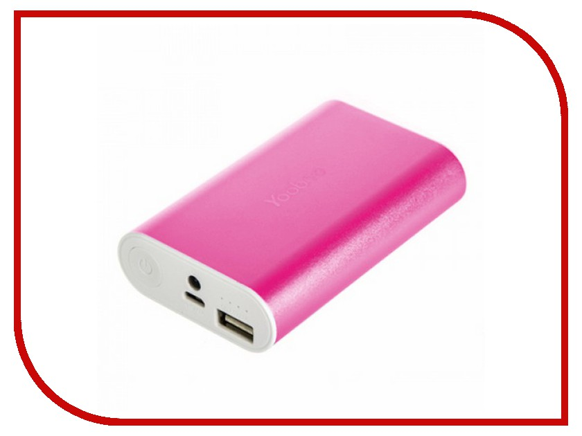 Аккумулятор Yoobao Power Bank Master M3 YB-6013 7800mAh Pink