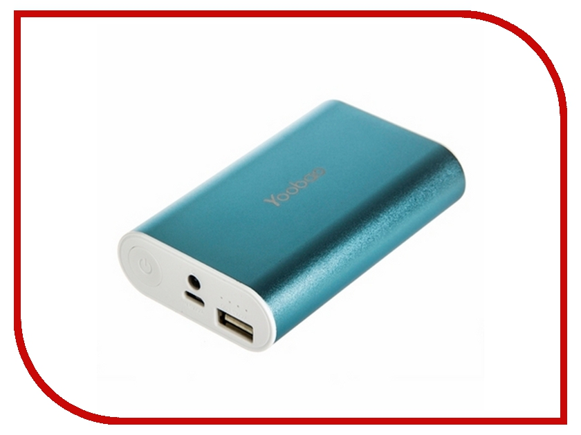 Аккумулятор Yoobao Power Bank Specialist S3 6000 mAh YB-6023 Blue