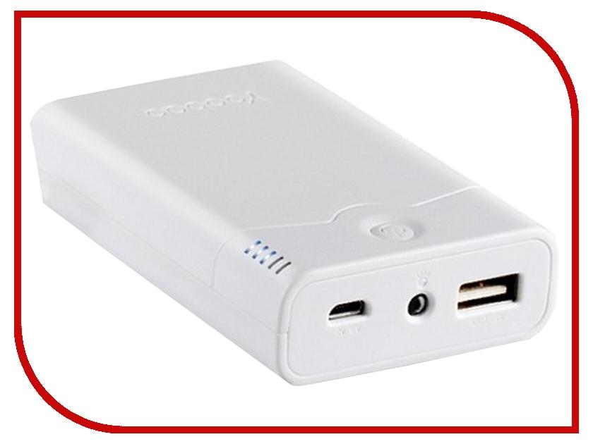 Аккумулятор Yoobao Sunrise Power Bank 7800 mAh YB-633 White