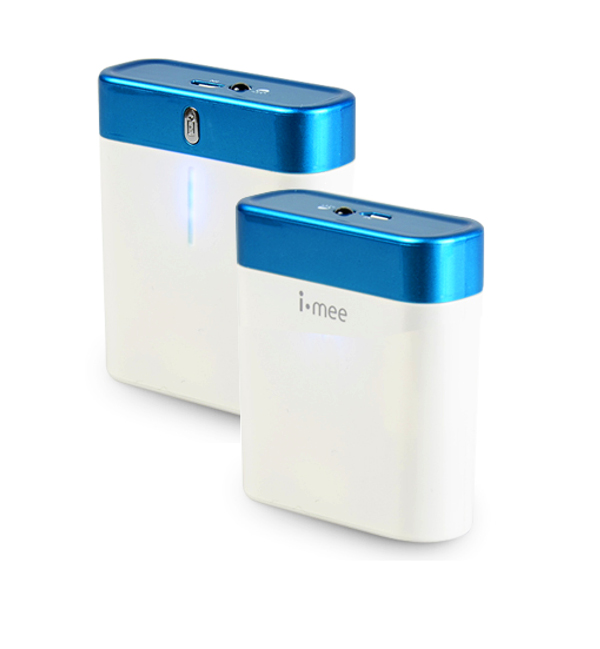 Аккумулятор i-Mee Melkco Portable Power Bank 4400 mAh White
