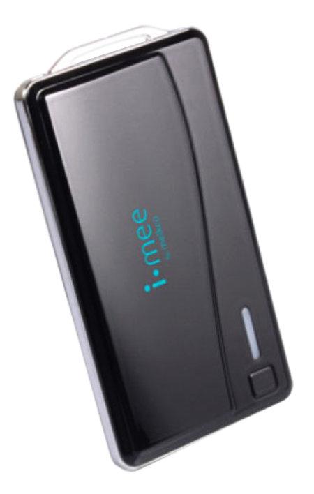 Аккумулятор i-Mee Melkco Portable Power Bank 2000 mAh Black