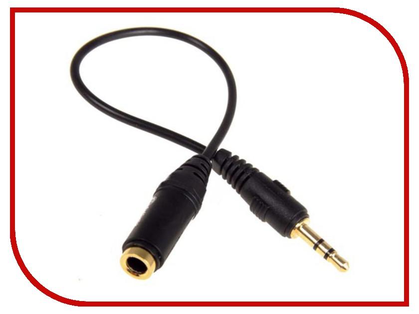 Аксессуар Fischer Audio AD-213 - джек 2.5мм на гнездо 3.5мм vivanco sound & image 3 5мм джек штырь 2хrca гнездо аудиоадаптер