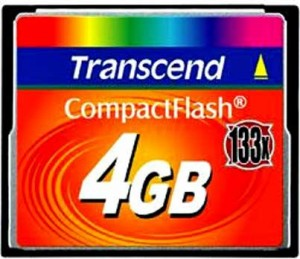 Карта памяти Transcend TS4GCF133 — 133x Ultra Speed