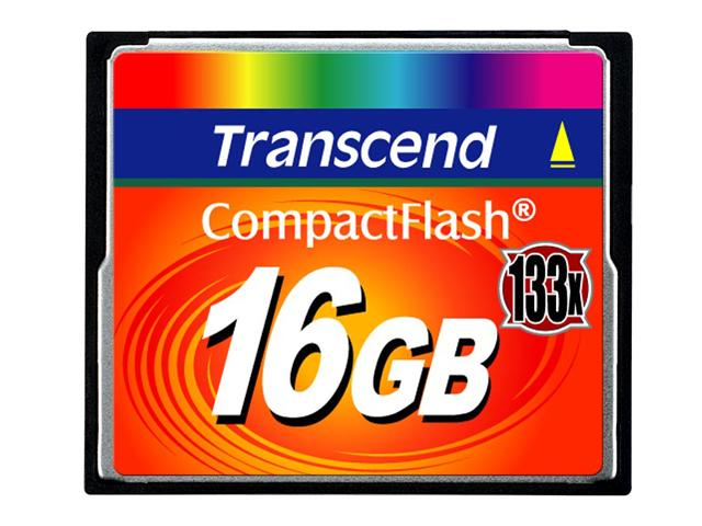 Карта памяти Transcend TS16GCF133 — 133x Ultra Speed