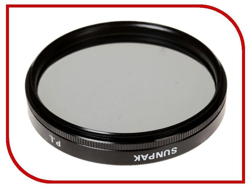 Светофильтр Sunpak PL 67mm светофильтр marumi mc c pl 55mm