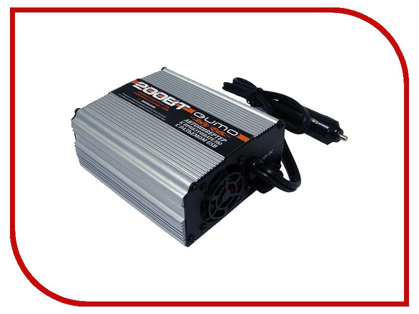 Автоинвертор Автоинвертор Qumo PS-200 12В