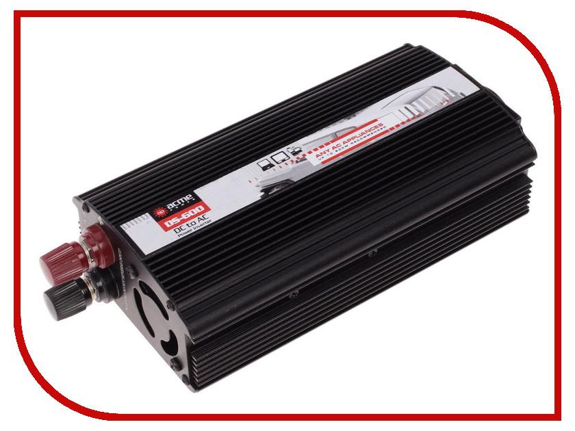 Автоинвертор AcmePower AP-DS600 12В