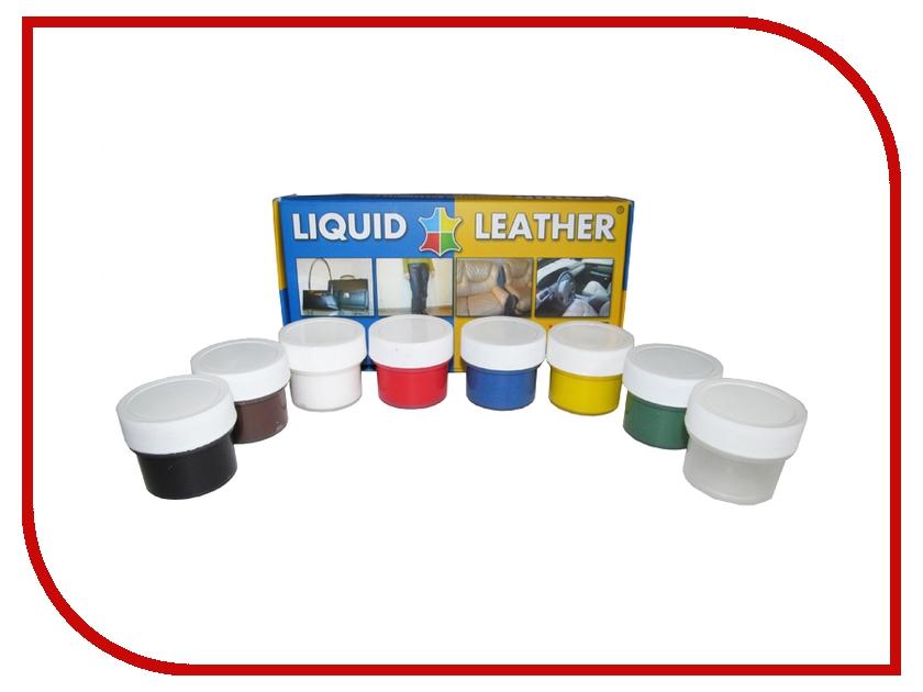 Средство для ремонта изделий из кожи Liquid Leather набор 7 цветов<br>