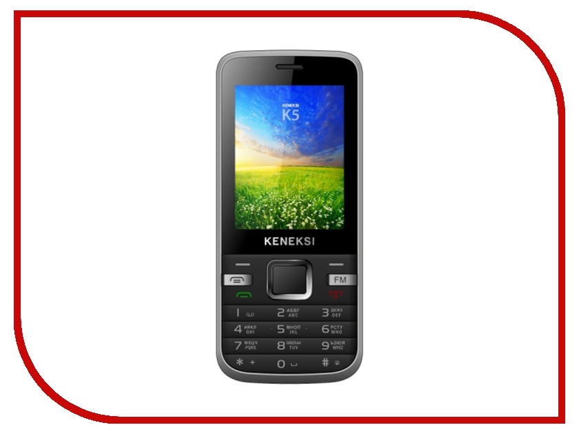 Сотовый телефон KENEKSI K5 Black<br>