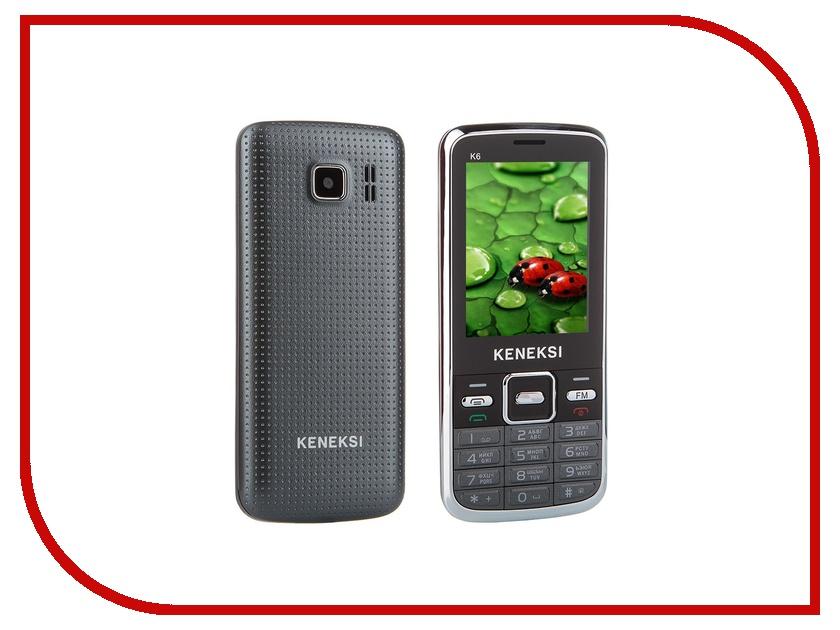 Сотовый телефон KENEKSI K6 Black