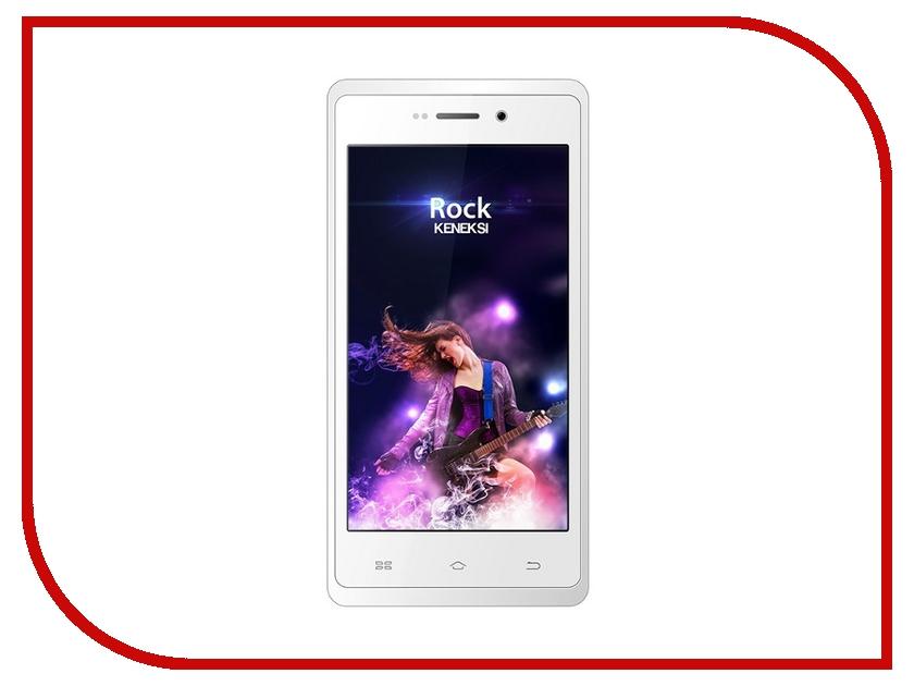 Сотовый телефон KENEKSI Rock White<br>