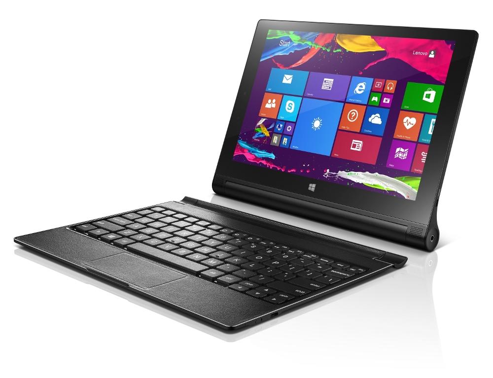 Планшет Lenovo Yoga Tablet 2 1051L 10 32Gb 59429194 Intel Atom Z3745 1.8 GHz/2048Mb/32Gb/3G/LTE/Wi-Fi/Bluetooth/GPS/Cam/10.1/1920x1200/Keyboard/Windows 8.1