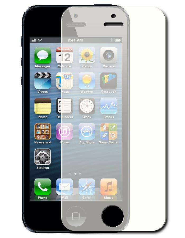 Аксессуар Защитное стекло Onext for iPhone 5 / 5S / 5C Golden