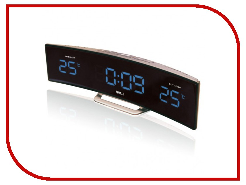 Часы BVItech BV-415BKS Blue-Black настольные часы bvitech bv 412r