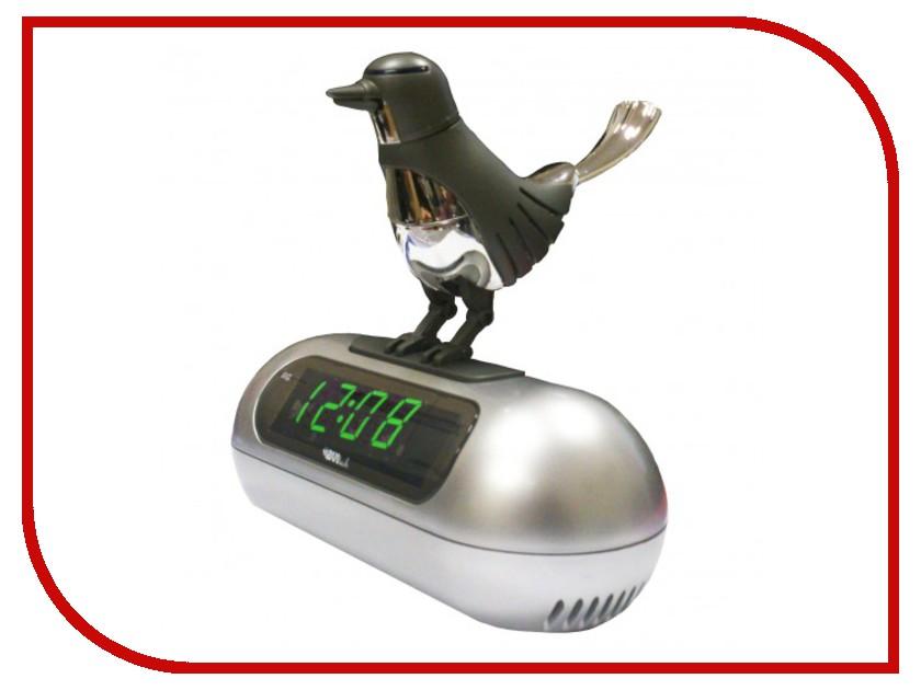 Часы настольные BVItech BV-14GSK Green-Black